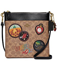 Box Program Coated Canvas Signature Wizard Of Oz Kitt Crossbody