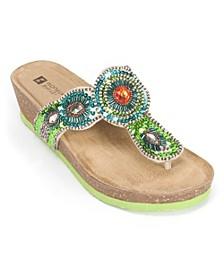 Blast Wedge Sandals