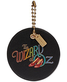 Wizard of Oz Leather Hangtag