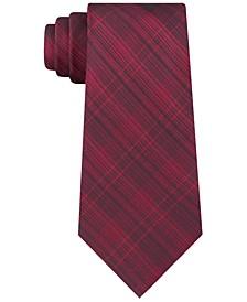Men's Slim Tonal Iridescent Check Tie