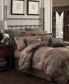 Galleria Brown Queen 4-Pc. Comforter Set