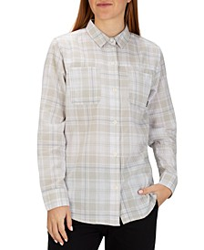 Juniors' Wilson Plaid Flannel Shirt