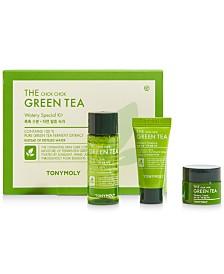 Receive a Free The Chok Chok Green Tea 3pc Skincare Set with any $100 Skincare purchase
