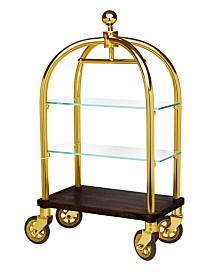 Luggage Cart 2 Tier Server Gold
