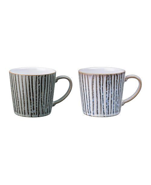 Denby Wax Multi Set of 2 Mugs