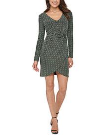 GUESS Metallic Dew-Drop Knit Dress