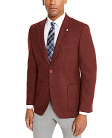 Men's Modern-Ft Solid Sport Coat