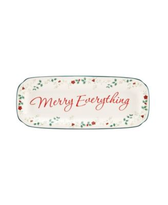 Winterberry Merry Everything Appetizer Tray