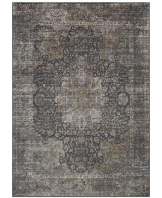 Tryst Dorset Anthracite 5' x 8' Area Rug
