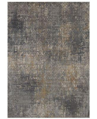 Tryst Botan Anthracite 5' x 8' Area Rug