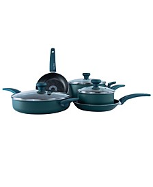 8 Piece Non-Stick Aluminum Cookware Set