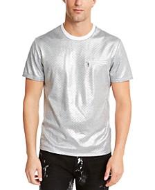 INC Men's Wipers Metallic T-Shirt, Created For Macy's