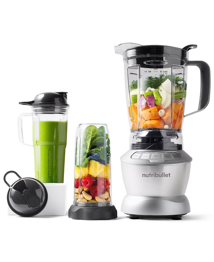 NutriBullet - ® Blender 1200W Combo with Single Serve Cups, Created for Macy's
