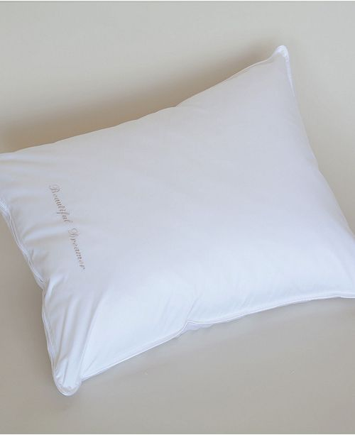 The Pillow Bar Down Alternative Standard Side Sleeper Pillow