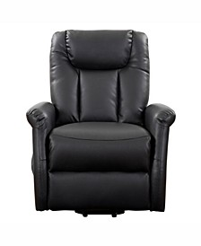 Dallas Power Lift and Rise Leather Gel Recliner