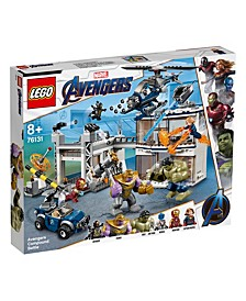 Avengers Compound Battle 76131