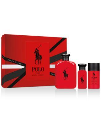 Men's 3-Pc. Polo Red Eau de Toilette Gift Set