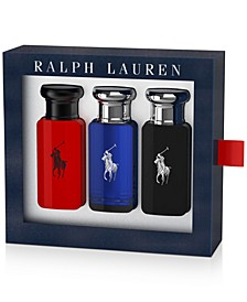 Men's 3-Pc. World Of Polo Gift Set