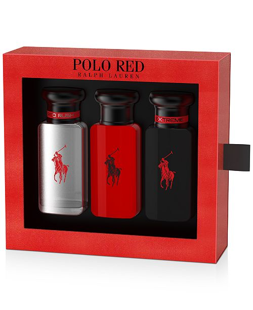 Ralph Lauren Men's 3-Pc. Polo Red Travel Set