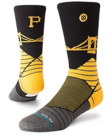 Pittsburgh Pirates Diamond Pro Authentic Crew Socks