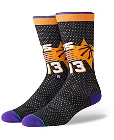 Steve Nash Phoenix Suns Hardwood Classic Jersey Crew Socks