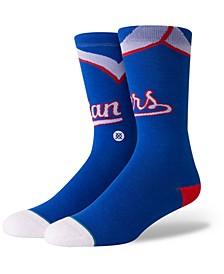 Texas Rangers Coop Jersey Crew Socks