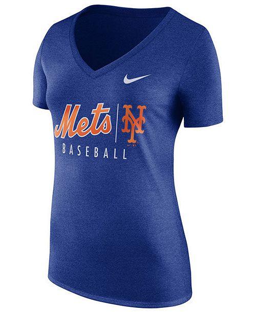 Nike Women's New York Mets Practice T-Shirt