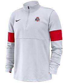 Nike Men's Ohio State Buckeyes Therma Half-Zip Pullover