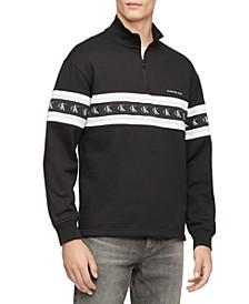 Men's Logo Quarter-Zip Sweatshirt