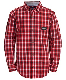 Big Boys Ombré Plaid Shirt