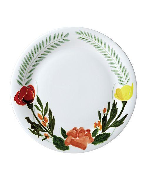 "Twig New York Language of Flowers 10"" Dinner Plate"