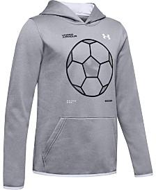 Under Armour Boys' Armour Fleece® Soccer Logo Hoodie