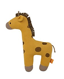 Giraffe Knitted Plush Toy