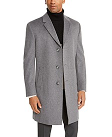 Men's Raburn Slim-Fit Solid Overcoat
