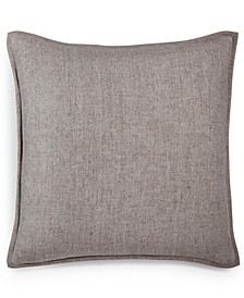 "Linen Basic 20"" x 20"" Decorative Pillow, Created for Macy's"