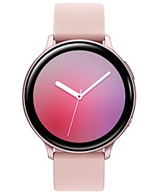 Galaxy Active 2 Blush Silicone Strap Touchscreen Smart Watch 44mm