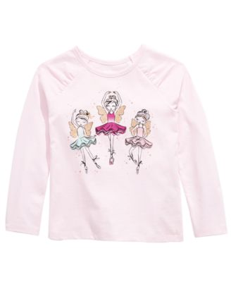 Toddler Girls Fairy Girls T-Shirt, Created For Macy's
