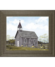 """He Is Risen by Billy Jacobs Framed Print Wall Art - 22"""" x 26"""""""