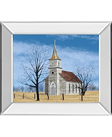"""Little House on The Prairie by Billy Jacobs Mirror Framed Print Wall Art - 22"""" x 26"""""""