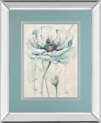 "Fresh Poppies Il by Patricia Pinto Mirror Framed Print Wall Art - 34"" x 40"""