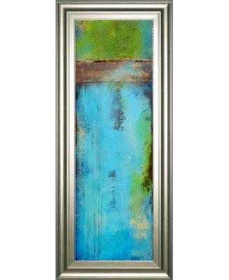 """Fisher Island I by Erin Ashley Framed Print Wall Art - 18"""" x 42"""""""