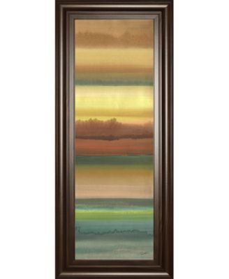 """Ambient Sky Il by John Butler Framed Print Wall Art - 18"""" x 42"""""""