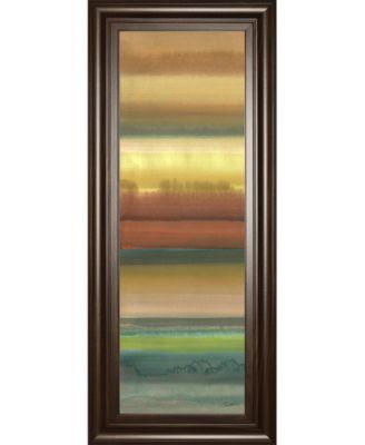 "Ambient Sky I by John Butler Framed Print Wall Art - 18"" x 42"""
