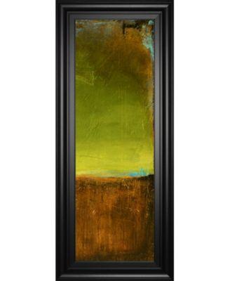 """Antigua Bay Il by Erin Ashley Framed Print Wall Art - 18"""" x 42"""""""