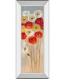 "Follow The Sun I by Nan Mirror Framed Print Wall Art - 18"" x 42"""