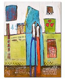 """William DeBilzan I-Do- 40""""x54""""x2"""" Gallery-Wrapped Canvas Wall Art"""