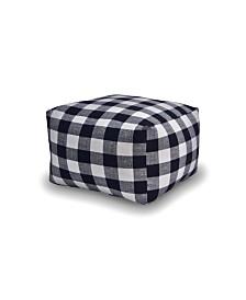 Savvy Chic Living Large Square Pillow Poufette