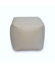 Savvy Chic Living Small Square Poufette