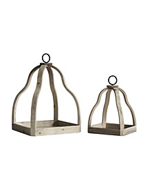 Candle Trays Set of 2