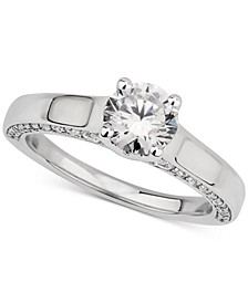 GIA Certified Diamond Solitaire Engagement Ring (1-1/4 ct. t.w.) in 14k White Gold